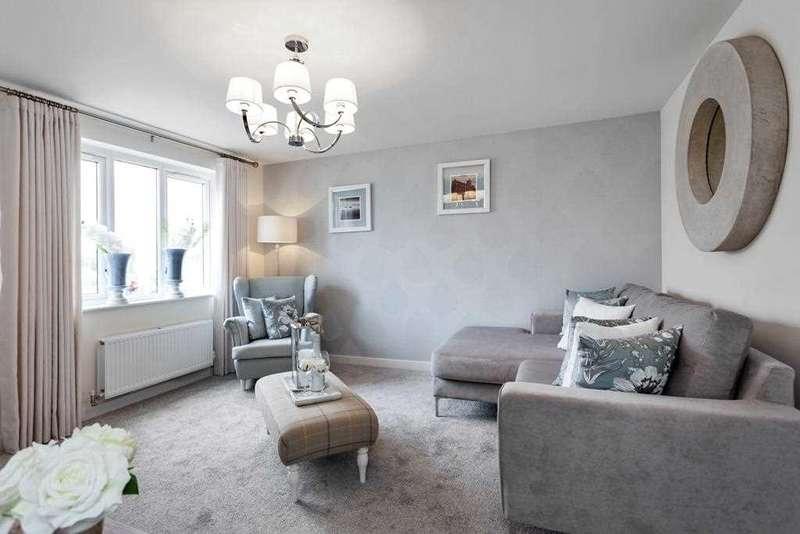 3 Bedrooms Terraced House for sale in The Blair, Ravenscraig, Plot 26, The Castings, Meadowhead Road, Ravenscraig, Wishaw
