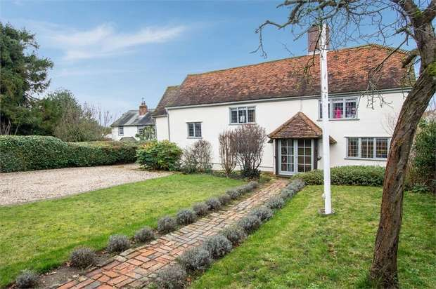 4 Bedrooms Detached House for sale in The Downs, Stebbing, Dunmow, Essex
