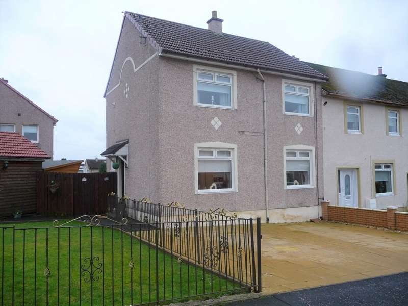 3 Bedrooms End Of Terrace House for sale in School Street, Airdrie, ML6