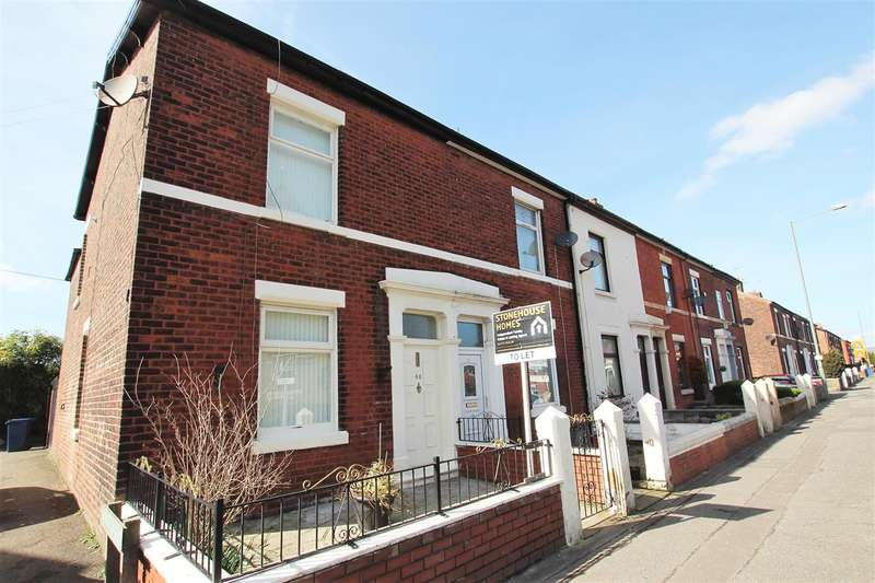 3 Bedrooms Terraced House for sale in Station Road, Bamber Bridge, Preston