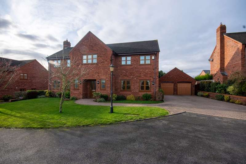 5 Bedrooms Detached House for sale in Mavesyn Close, Hill Ridware, Rugeley, WS15