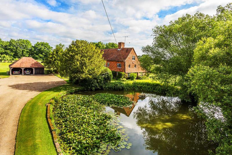 6 Bedrooms Detached House for sale in Moor Lane, Marsh Green, TN8