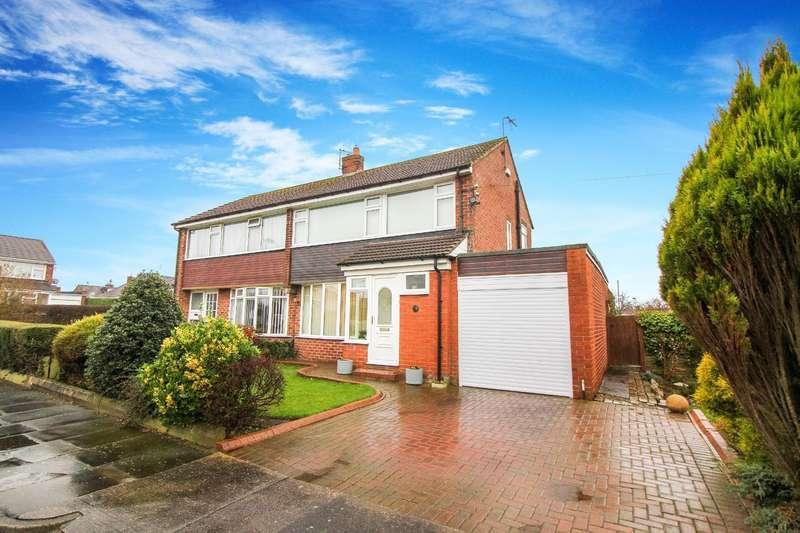 3 Bedrooms Semi Detached House for sale in Corbridge Avenue, Wideopen, Newcastle Upon Tyne