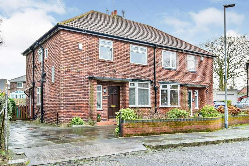 3 Bedrooms Semi Detached House for sale in Shandon Avenue, Northenden, Manchester, M22