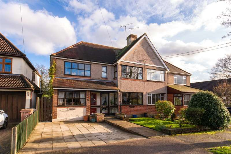 4 Bedrooms Semi Detached House for sale in Sunray Avenue, Hutton, Brentwood, Essex