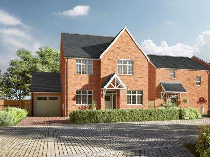 4 Bedrooms Detached House for sale in Broadmeadow Park, Abby Road, Sandbach