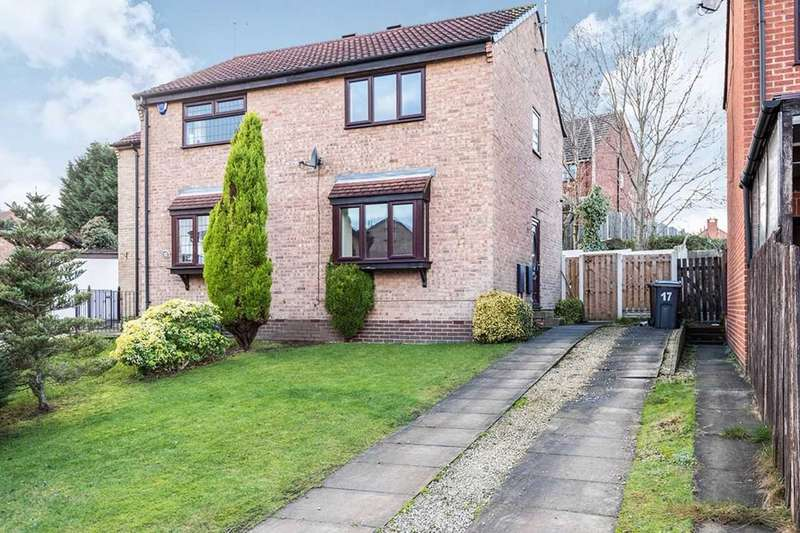 2 Bedrooms Semi Detached House for sale in Nether Ley Court, Chapeltown, S35
