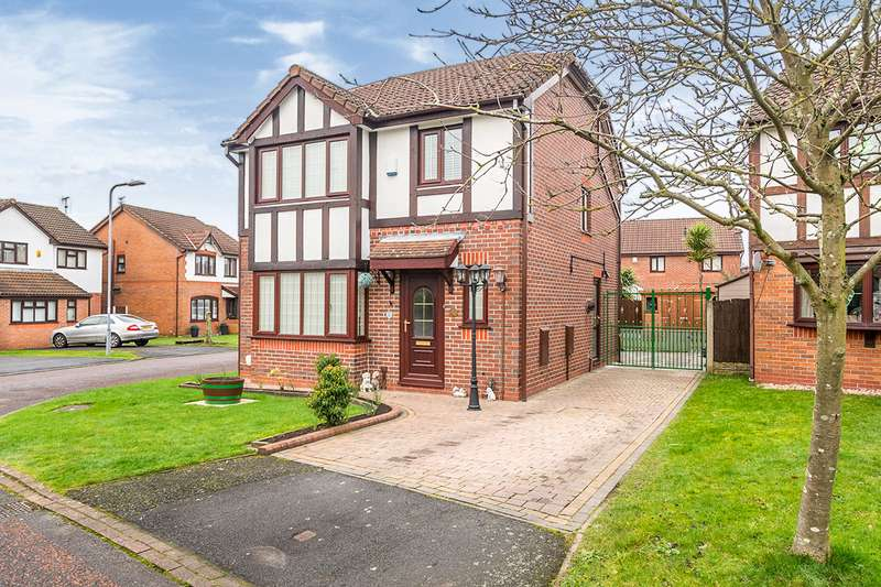 3 Bedrooms Detached House for sale in Briarswood Close, Whiston, Prescot, Merseyside, L35
