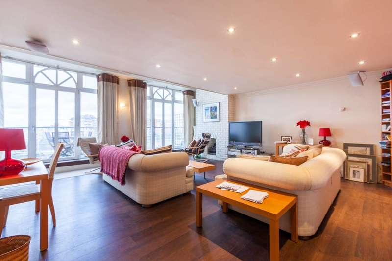 3 Bedrooms Penthouse Flat for sale in Plantation Wharf, Battersea, SW11