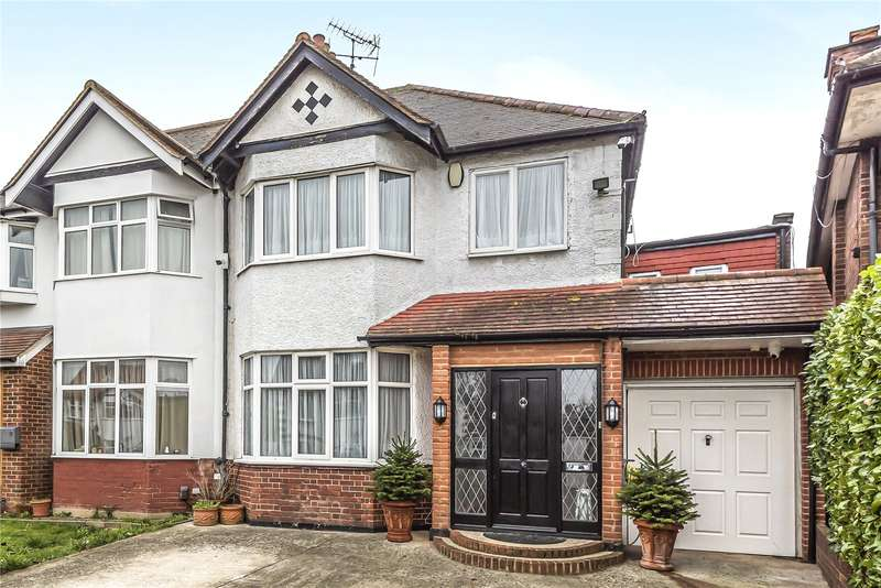 4 Bedrooms Semi Detached House for sale in Chatsworth Avenue, Hendon, NW4