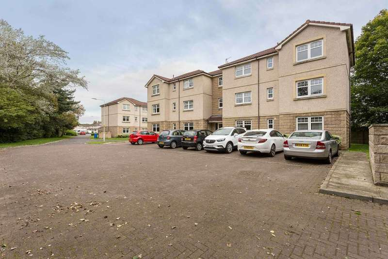 2 Bedrooms Flat for sale in Braemar Court, Glenrothes, KY6 2QY