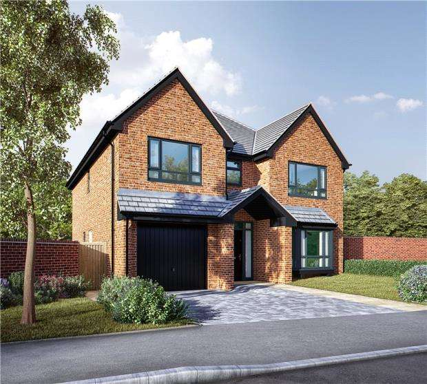 5 Bedrooms Detached House for sale in Rilshaw Lane, Winsford, Cheshire