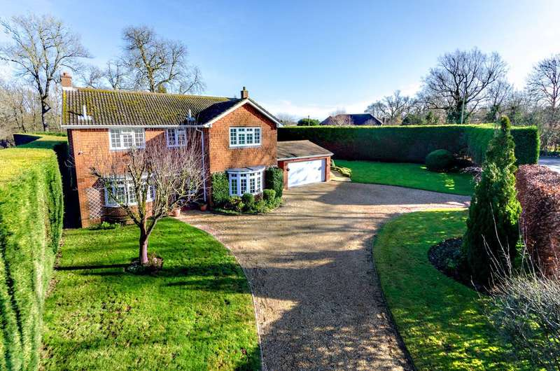 4 Bedrooms Detached House for sale in Abbotswood, Abbotswood, GU1