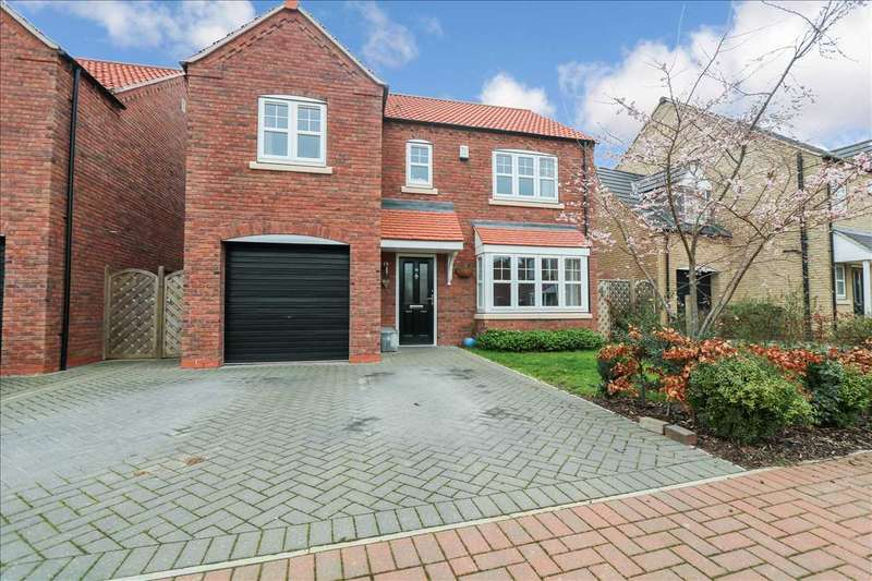 4 Bedrooms Detached House for sale in Grafham Drive, Waddington, Lincoln