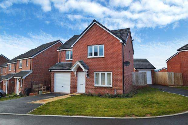 3 Bedrooms Detached House for sale in Desmond Rochford Way, Bishops Hull, Taunton, Somerset