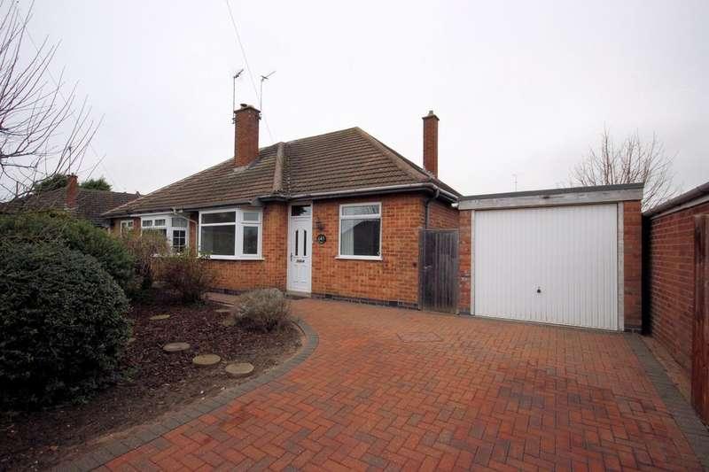 2 Bedrooms Semi Detached Bungalow for sale in Babington Road, Barrow Upon Soar