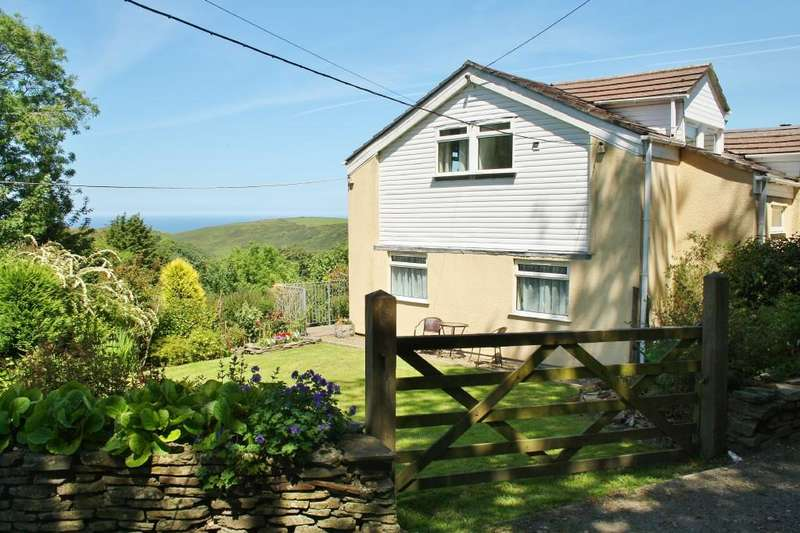 3 Bedrooms Semi Detached House for sale in Paradise Road, Boscastle, Cornwall, PL35