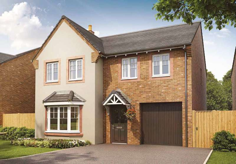 4 Bedrooms Detached House for sale in Plot 130, The Haddenham, Meadowbrook, Durranhill, Carlisle, CA1