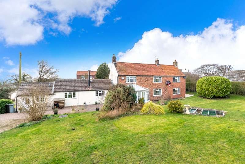 4 Bedrooms Detached House for sale in Main Street, Foston, Grantham, Lincolnshire, NG32