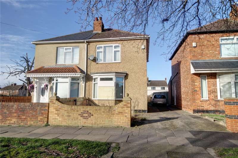 2 Bedrooms Semi Detached House for sale in Geneva Road, Darlington, DL1