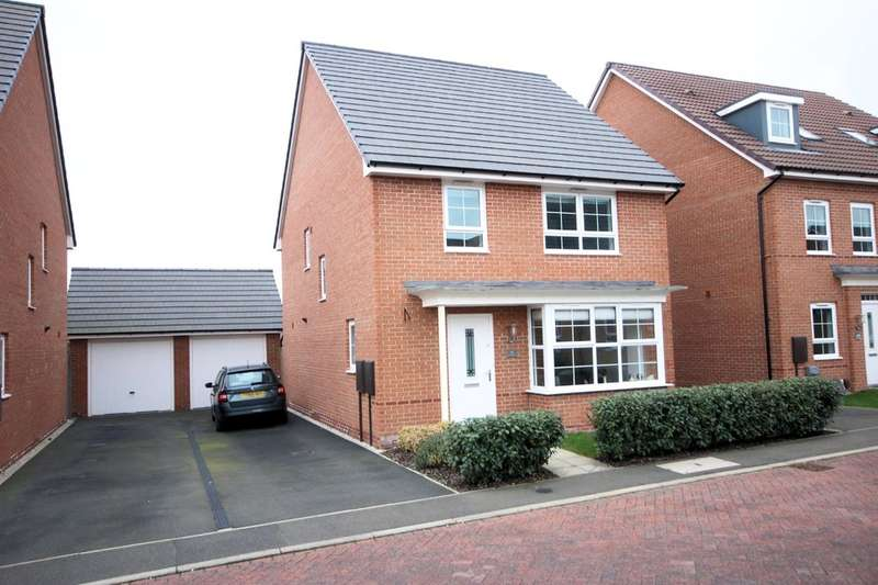 4 Bedrooms Detached House for sale in Sand Martin Close, East Leake