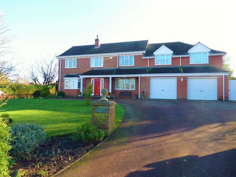 4 Bedrooms Detached House for sale in Station Road, Ludborough, Grimsby, DN36 5SQ