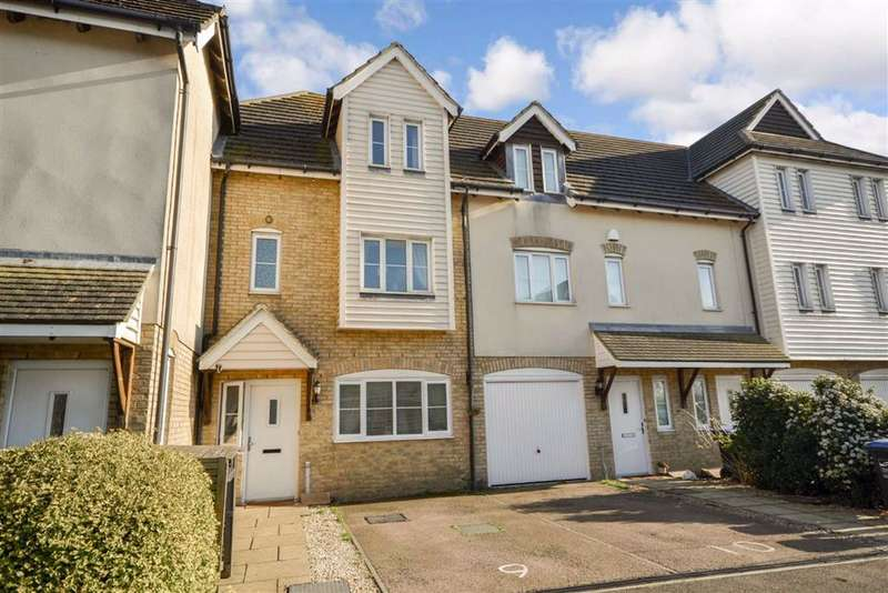 4 Bedrooms Terraced House for sale in Saddlers Mews, Ramsgate, Kent