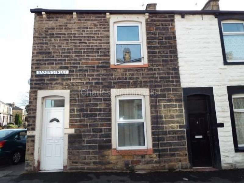 2 Bedrooms Terraced House for sale in Saxon Street, Burnley, Lancashire. BB10 1AE