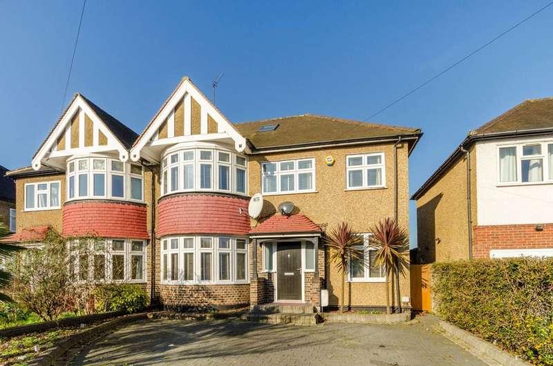 4 Bedrooms Semi Detached House for sale in Kings Drive, Berrylands, KT5