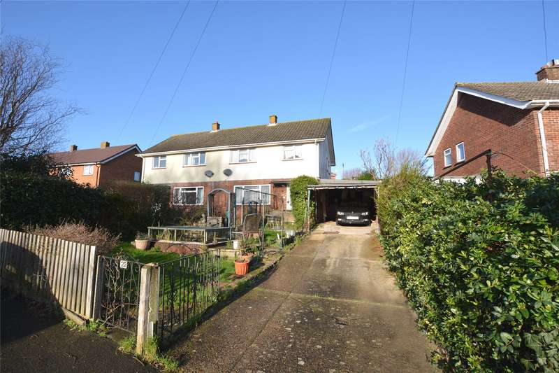 3 Bedrooms Semi Detached House for sale in Broomfield Lane, Lymington, Hampshire, SO41