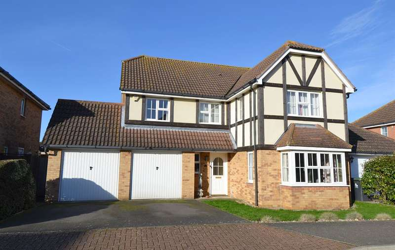 4 Bedrooms Detached House for sale in Kendal Meadow, Chestfield, Whitstable