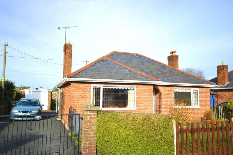 2 Bedrooms Detached Bungalow for sale in North Drive Bungalows, Park Hall, Oswestry, Shropshire, SY11