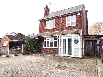 3 Bedrooms Detached House for sale in Rugby Road, Burbage, Hinckley, Leicestershire