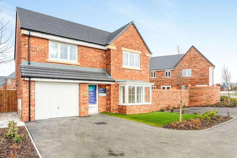 4 Bedrooms Detached House for sale in Blackfield Green, Warton, Preston, PR4
