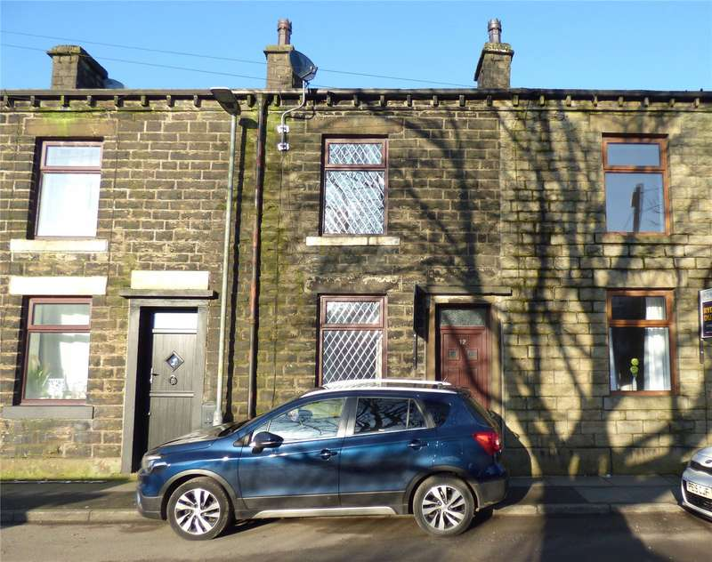 2 Bedrooms Terraced House for sale in Moss Side Street, Shawforth, Rochdale, Lancashire, OL12