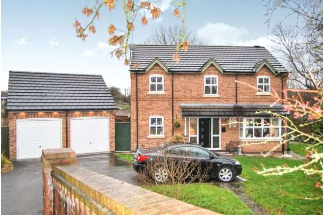 4 Bedrooms Detached House for sale in Windsor Close, Heanor, Derbyshire, DE75