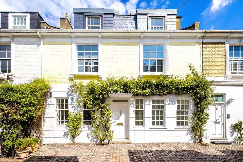 3 Bedrooms House for sale in Pembroke Mews, London, W8