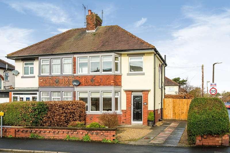 3 Bedrooms Semi Detached House for sale in Cadley Causeway, Fulwood, Preston, Lancashire, PR2