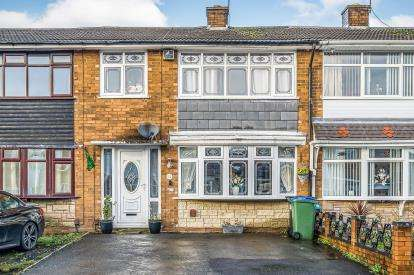 3 Bedrooms Terraced House for sale in Bertram Close, Tipton, Sandwell, West Midlands