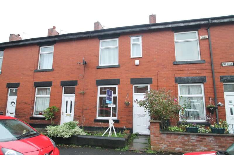 3 Bedrooms Terraced House for sale in Chesham Crescent, Bury, BL9