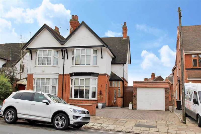 5 Bedrooms Semi Detached House for sale in Stoughton Drive North, Evington, Leicester