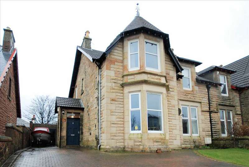 5 Bedrooms Semi Detached House for sale in Caledonia Road, Saltcoats