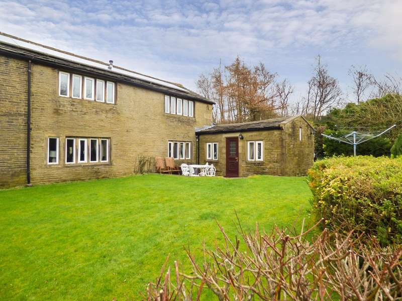 3 Bedrooms Semi Detached House for sale in Lane Head Lane, Ogden, HALIFAX, West Yorkshire, HX2