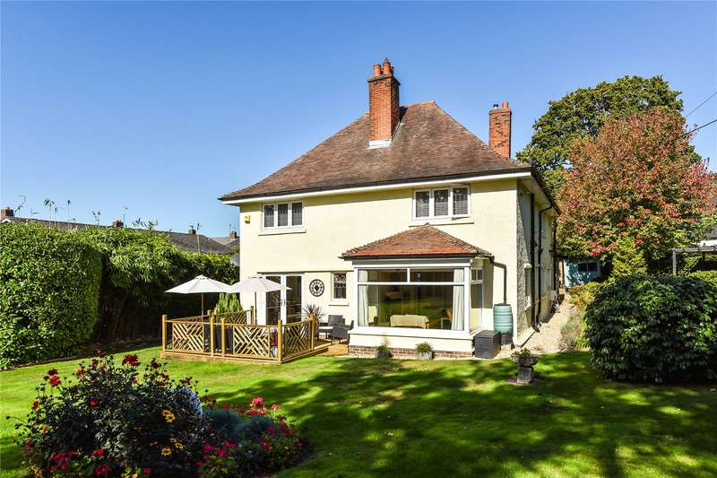 4 Bedrooms Detached House for sale in Station Road, Sway, Lymington, Hampshire, SO41