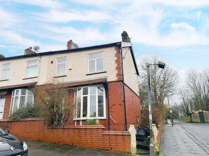 3 Bedrooms End Of Terrace House for sale in Ramsey Road, Blackburn, Lancashire, ., BB2