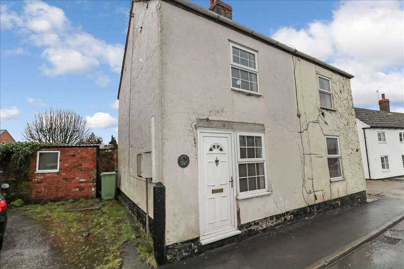 1 Bedroom Semi Detached House for sale in Station Road, Bardney, Bardney, Lincoln