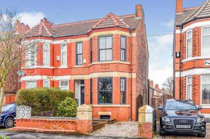 5 Bedrooms Semi Detached House for sale in Clarendon Road West, Chorlton, Manchester, Greater Manchester