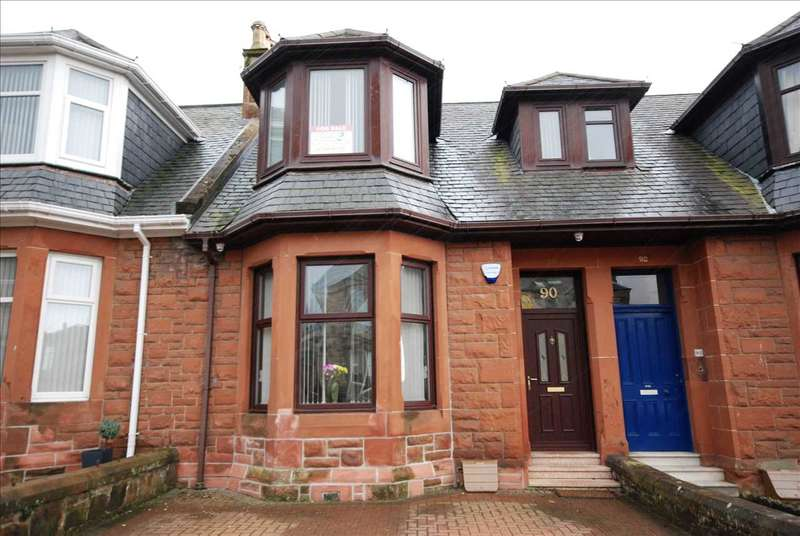 3 Bedrooms Terraced House for sale in Argyle Road, Saltcoats
