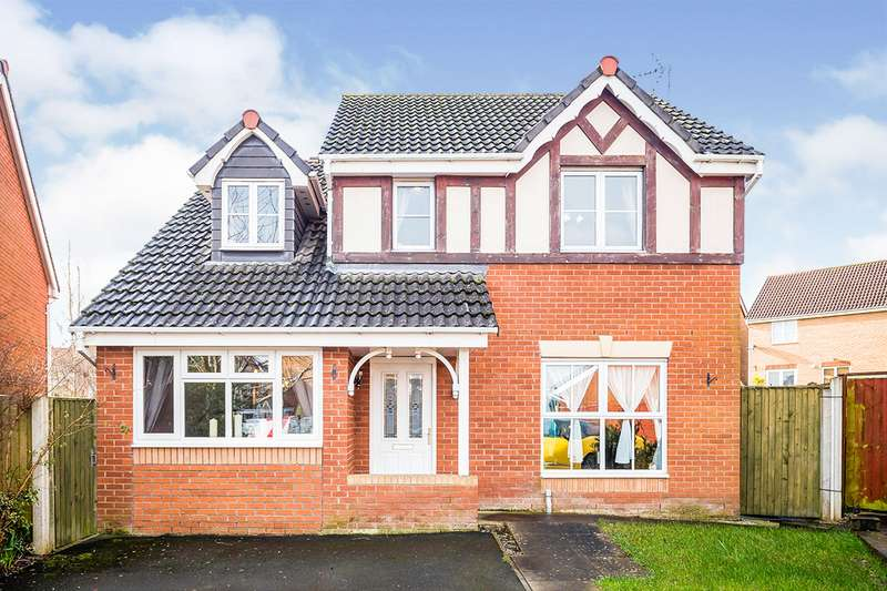 4 Bedrooms Detached House for sale in Cae Gwynn Close, Morda, Oswestry, Shropshire, SY10