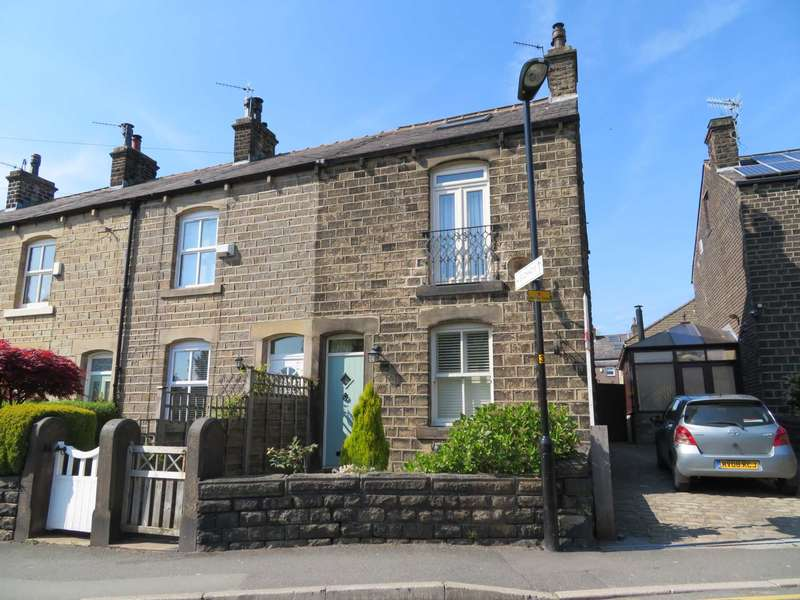 3 Bedrooms End Of Terrace House for sale in Church Road, Uppermill